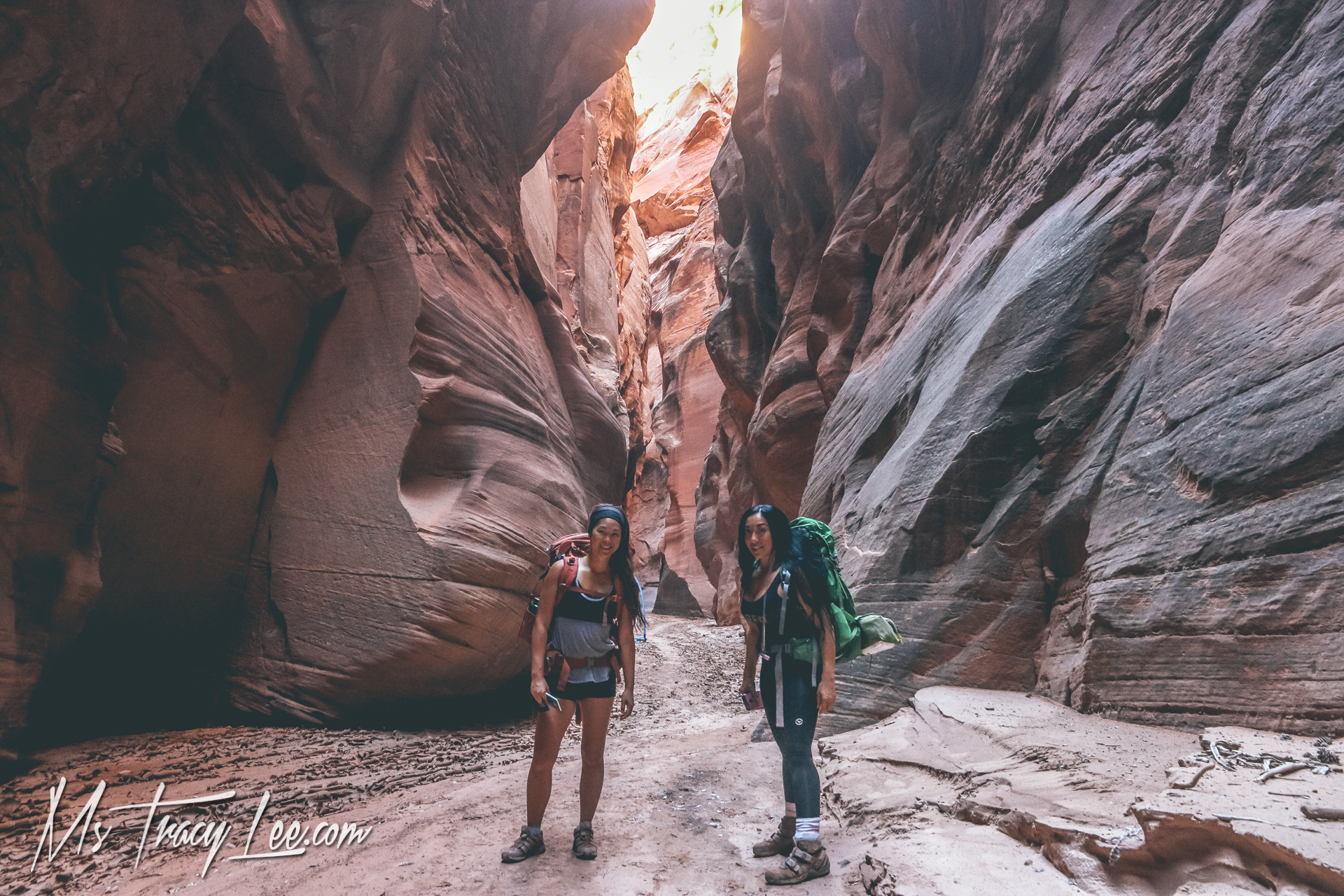 Crossing Buckskin Gulch off my Bucket List