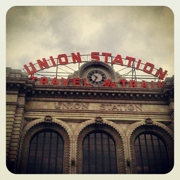 Union Station In Downtown Denver..