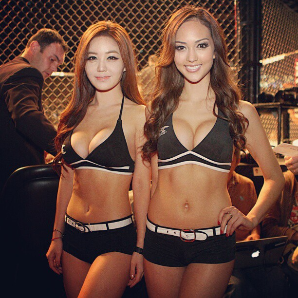 Jess Cambensy Announced As UFC Ring Girl For Singapore