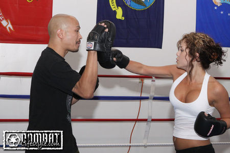 Brittney Palmer Dating Donald Cerrone Day 2 with Donald Cerr...