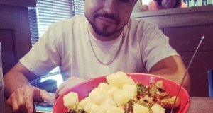 Lunch with @freaksinatra @genghisgrill -...