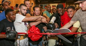 Grand opening of Roy Jones...