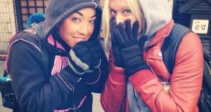 I froze my Seoul off...