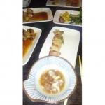 Dinner with @obeyjef & @iambbass…