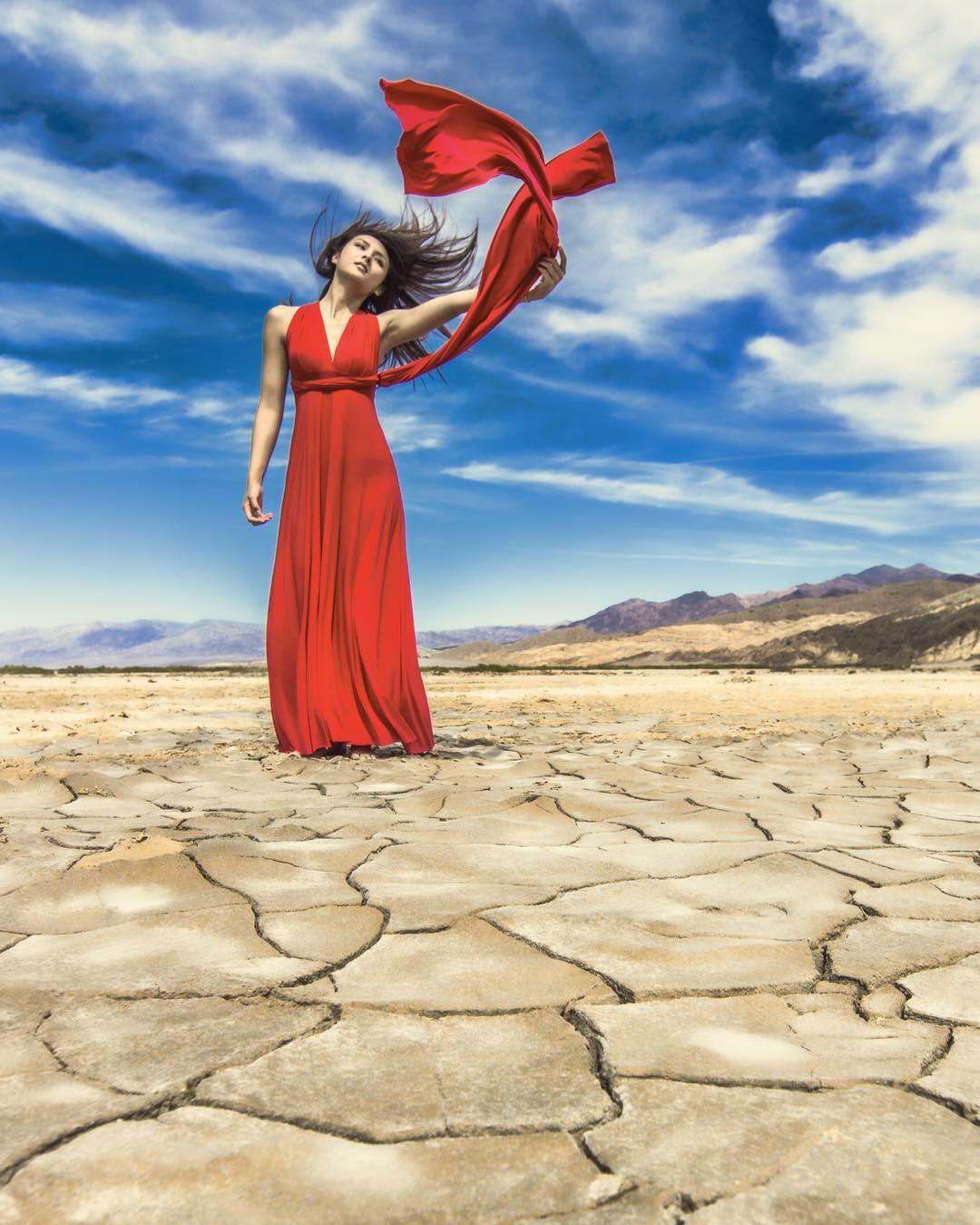 We wandered the desert for…