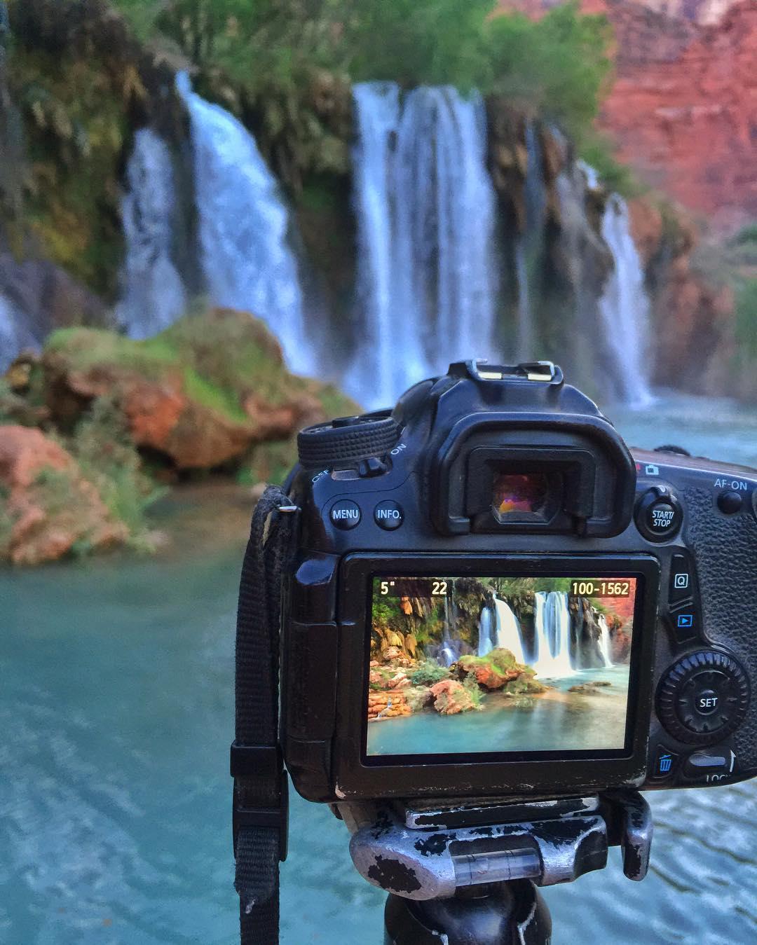 Because waterfalls… Chasing them desperately…..