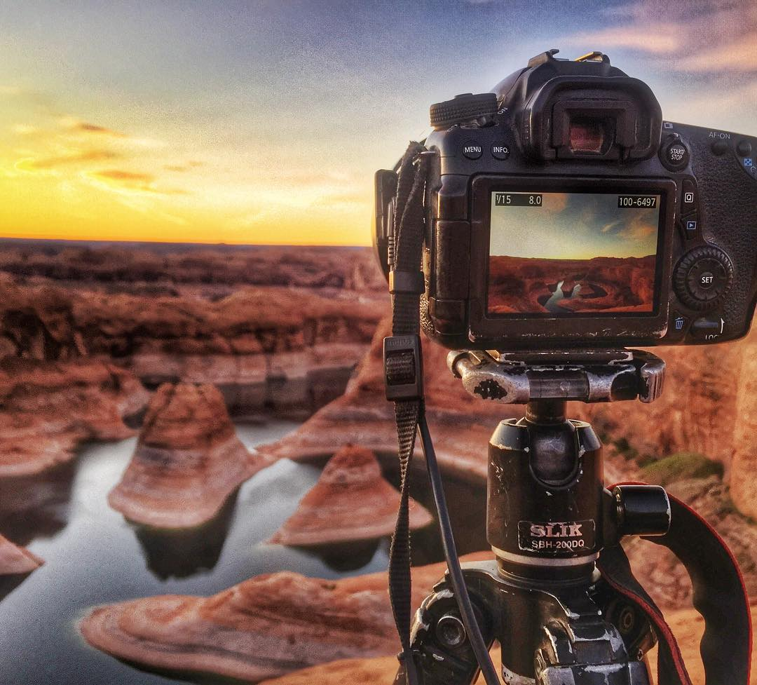 My view right now… #reflectioncanyon…