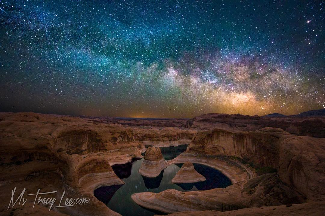 Reflection Canyon.. It was brought…