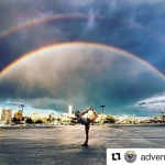 #Repost @adventuretracy ・・・ Because double…