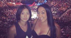 Great time at the fights...