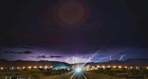 Storm chasing last night. ....