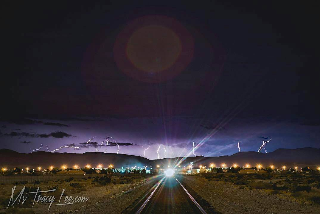 Storm chasing last night. ....