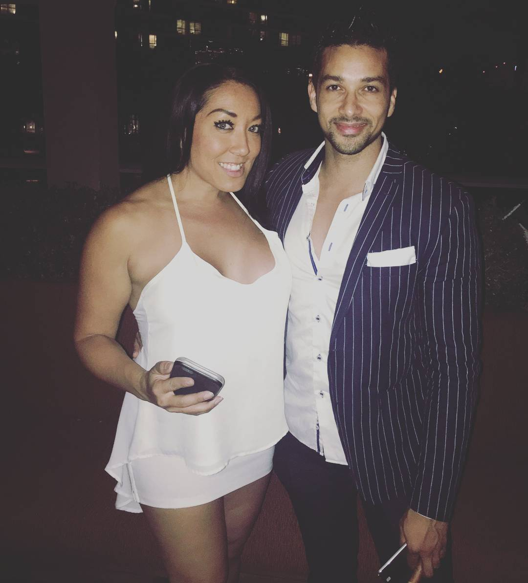Last nights White Party w/...