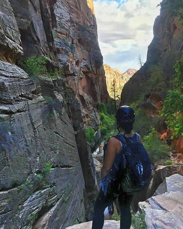 Already missing the canyons. I...