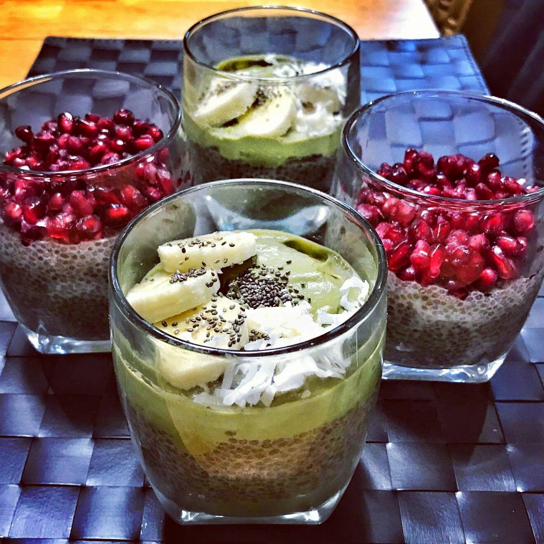 I made some chia pudding...
