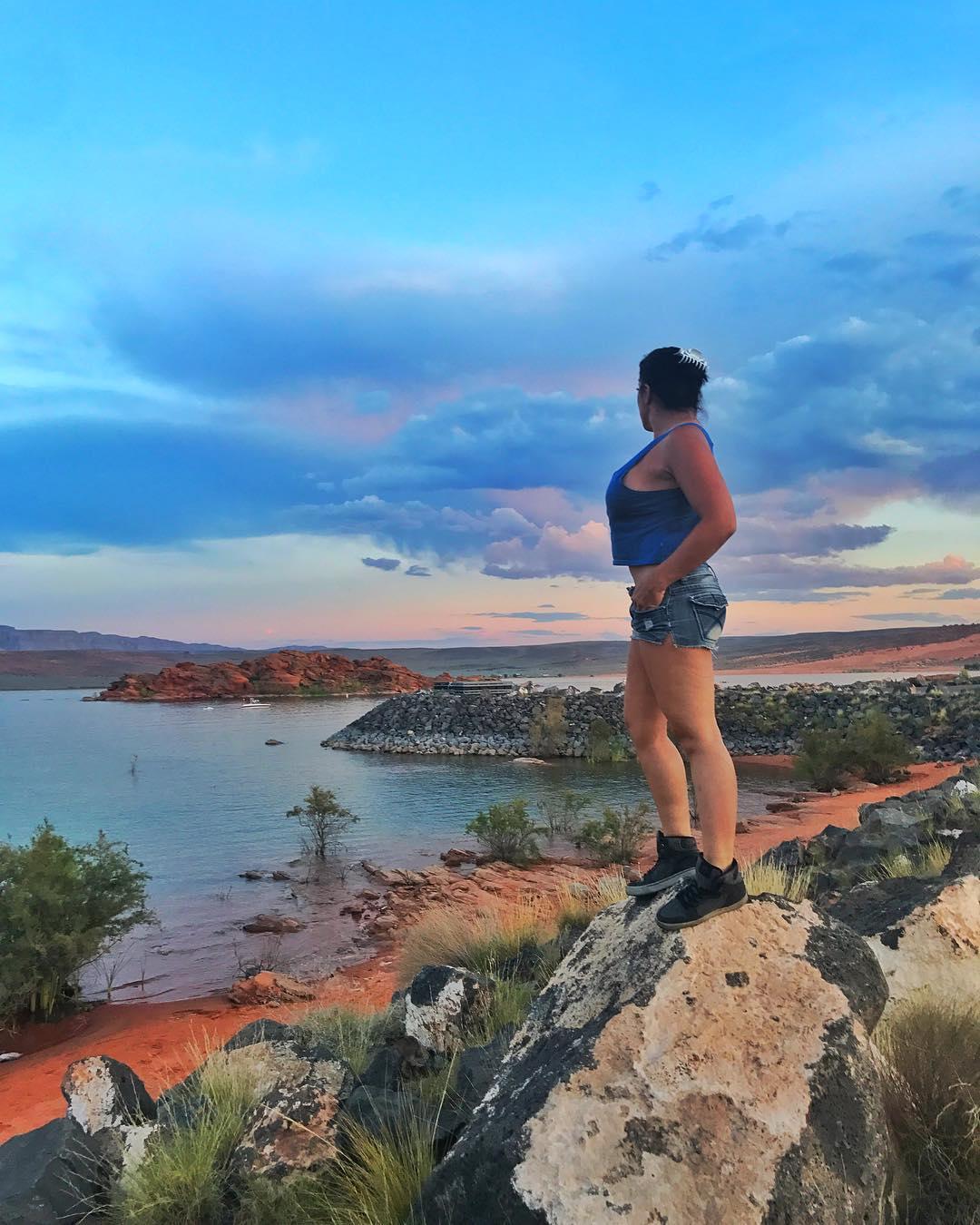 I really enjoyed my sunset…