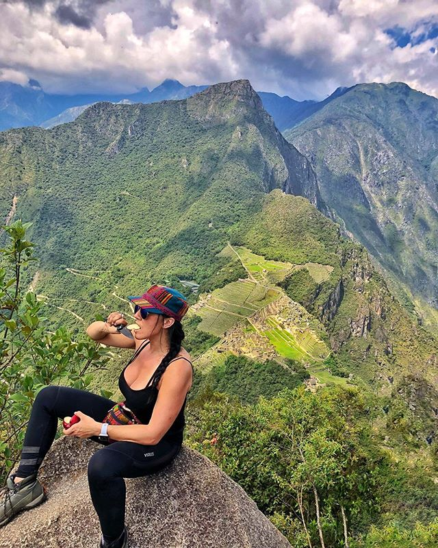 As if hiking the Inca…