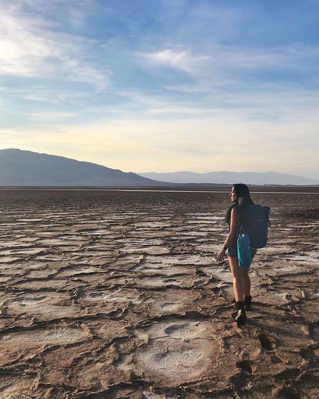Wandering around Death Valley In…